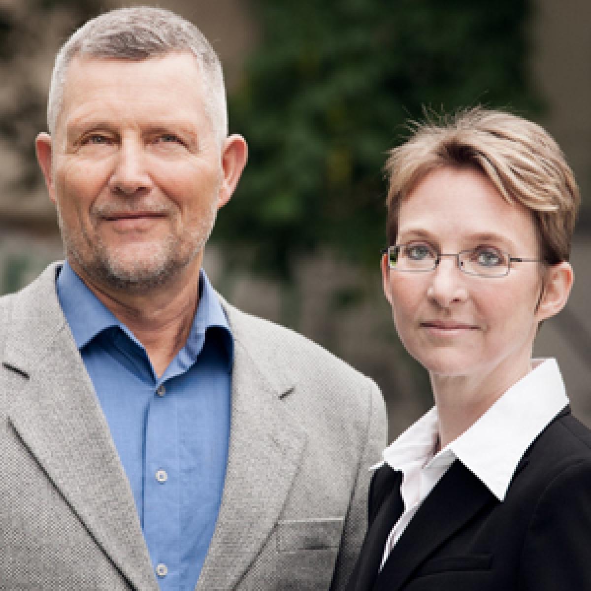 DAH-Geschäftsführung Peter Stuhlmüller und Silke Klumb