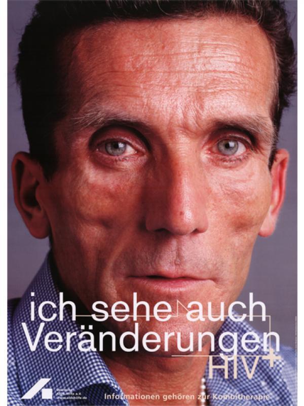 Ich sehe auch Veränderungen. Informationen gehören zur Kombitherapie. HIV+ 2004