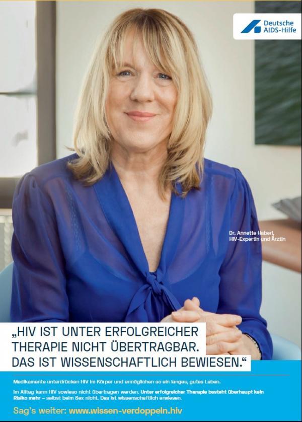 Welt-Aids-Tag 2018: Wissen verdoppeln (HIV ist unter erfolgreicher Therapie nicht übertragbar)