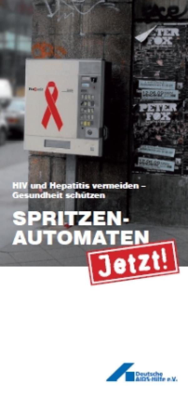 Flyer Spritzen-Automaten