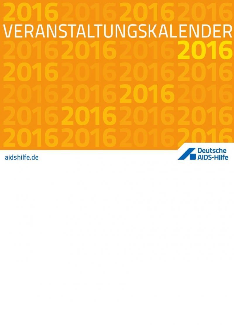 Veranstaltungskalender 2016