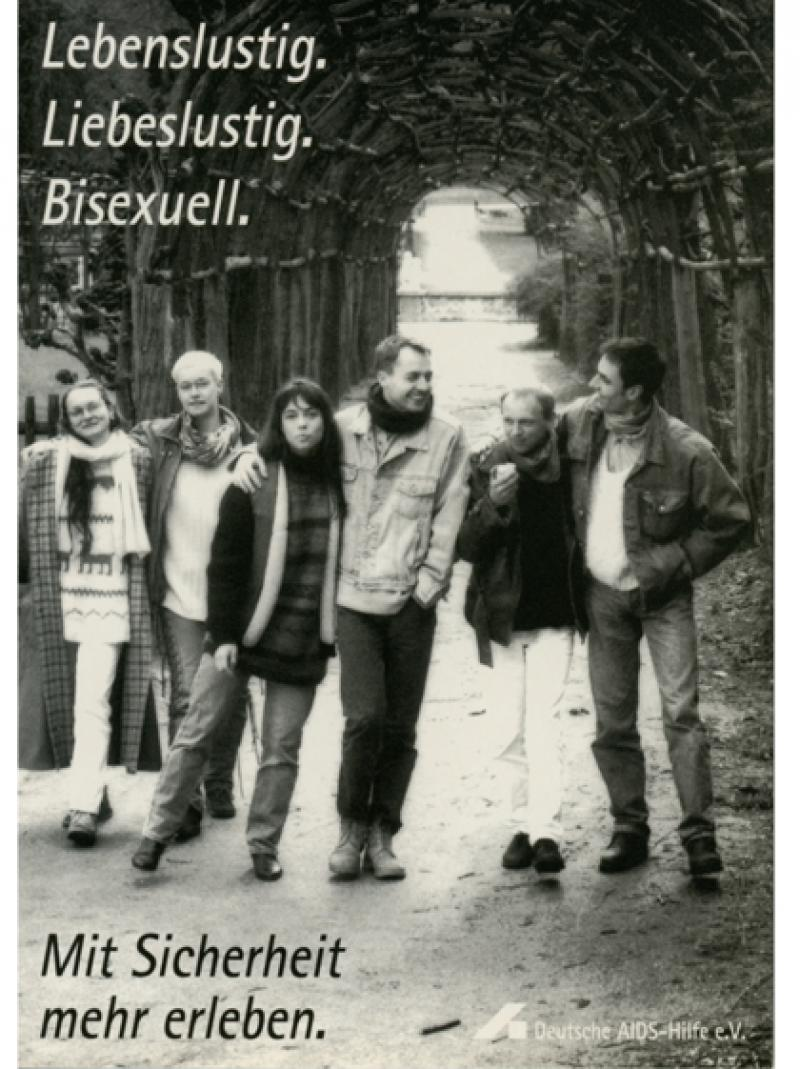 Lebenslustig. Liebeslustig. Bisexuell. 1996