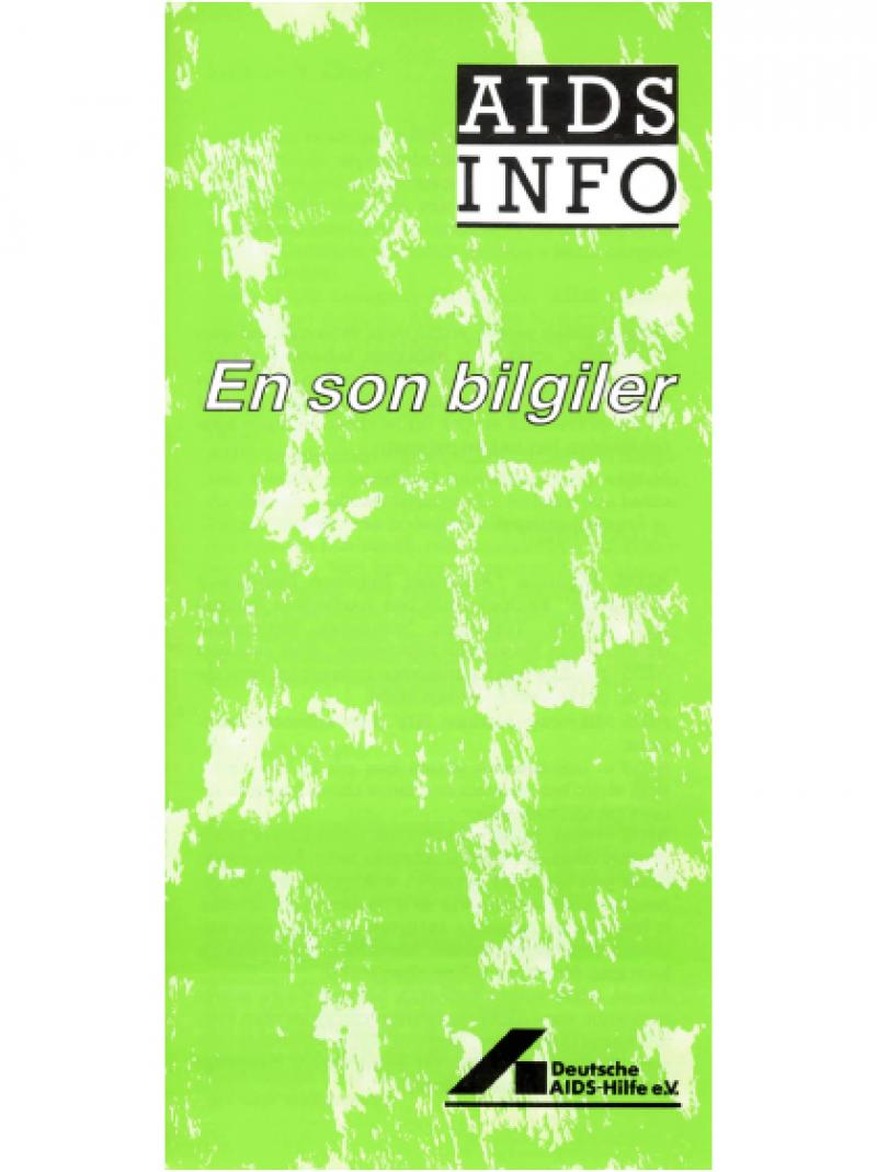 AIDS Info -  Heutiger Wissensstand (türkisch) 1987