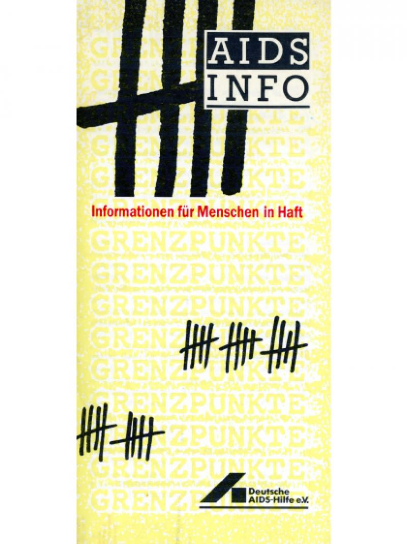 AIDS Info - Informationen für Menschen in Haft 1987