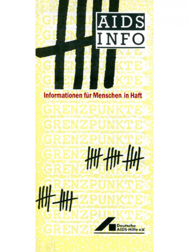 Informationen für Menschen in Haft Oktober 1988