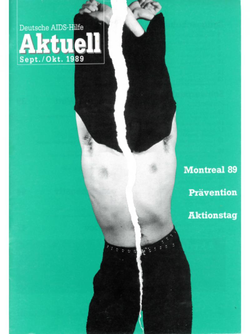 Deutsche AIDS-Hilfe Aktuell Sept./Okt. 1989