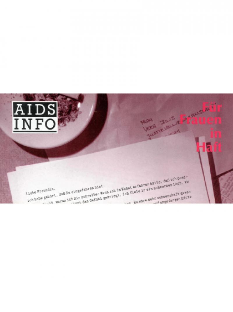 AIDS Info für Frauen in Haft September 1989