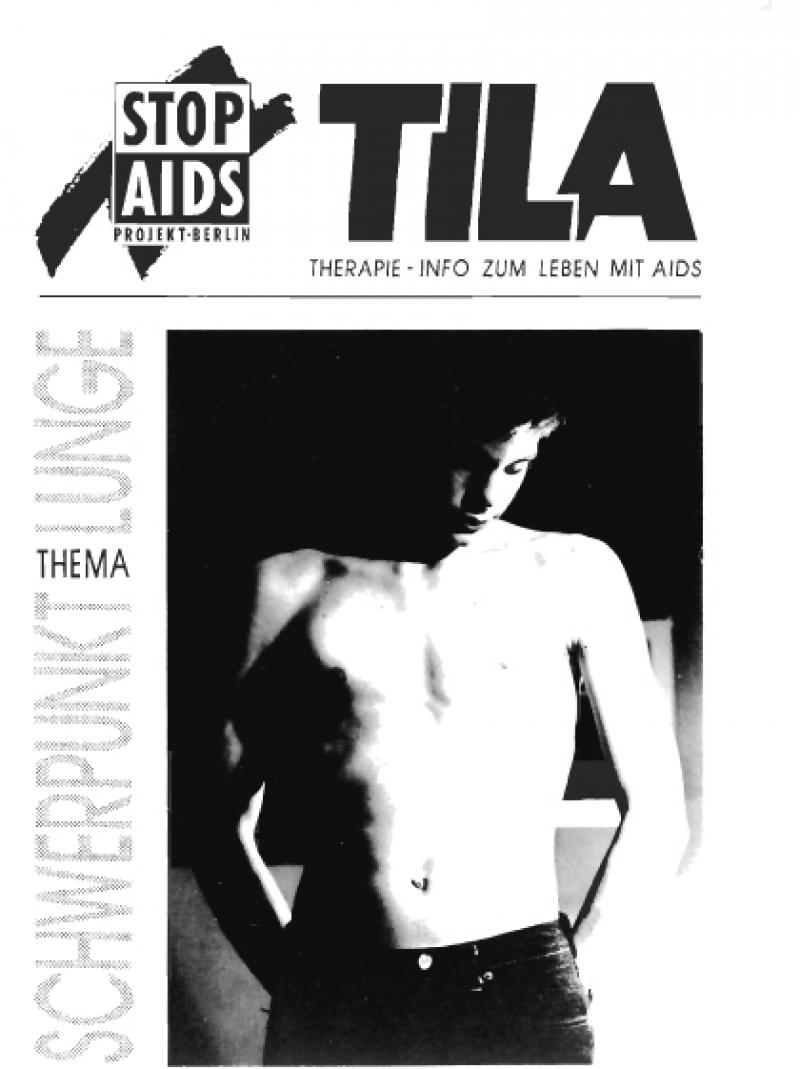 TILA - Therapie-Info zum Leben mit AIDS - Erstausgabe 1990
