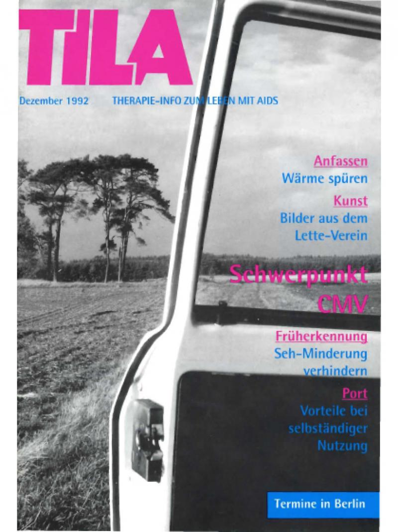 TILA - Therapie-Info zum Leben mit AIDS - Dezember 1992