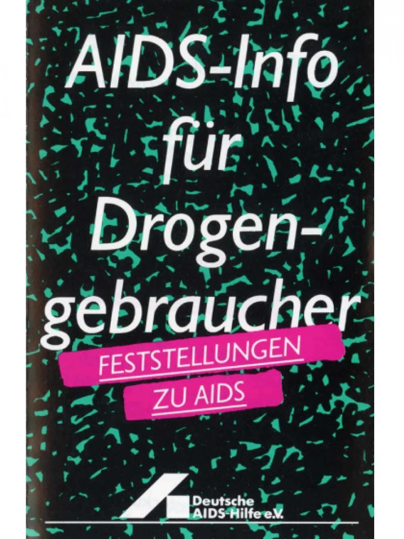 AIDS-Info für Drogengebraucher 1993