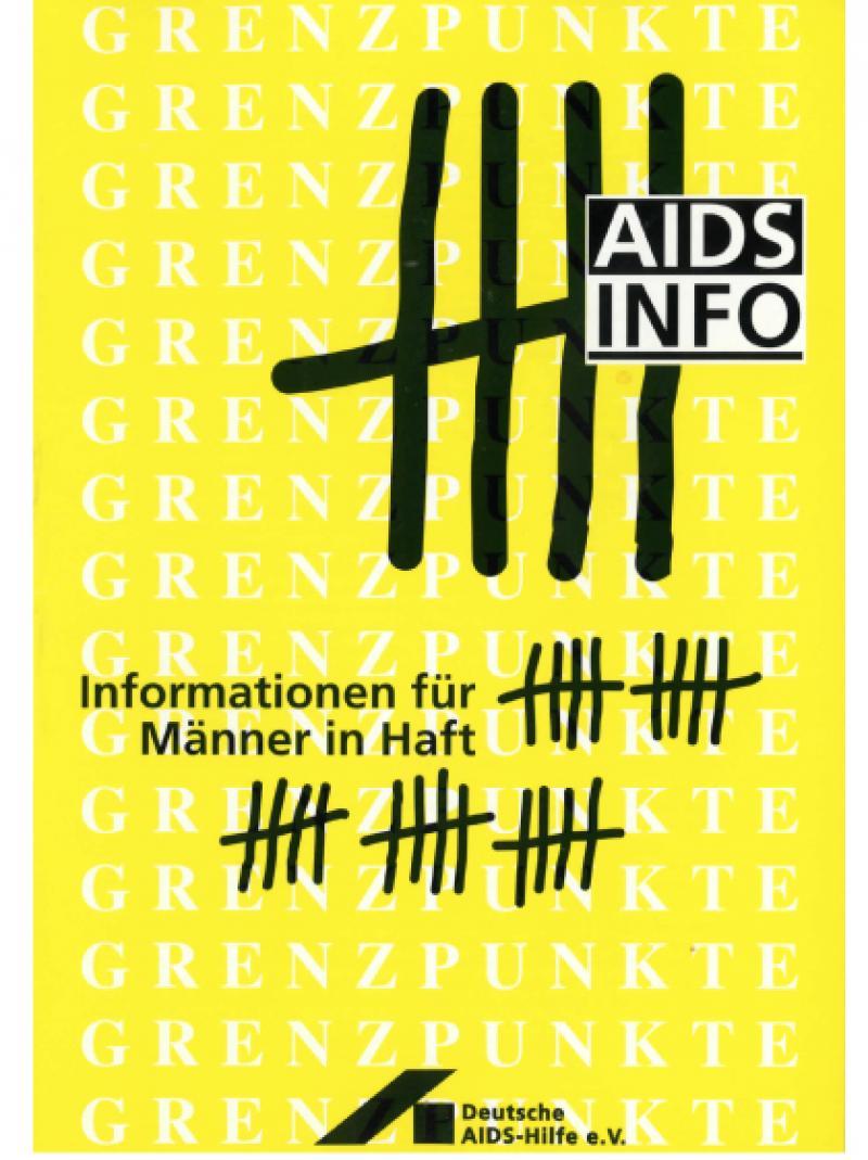 Informationen für Männer in Haft 1994