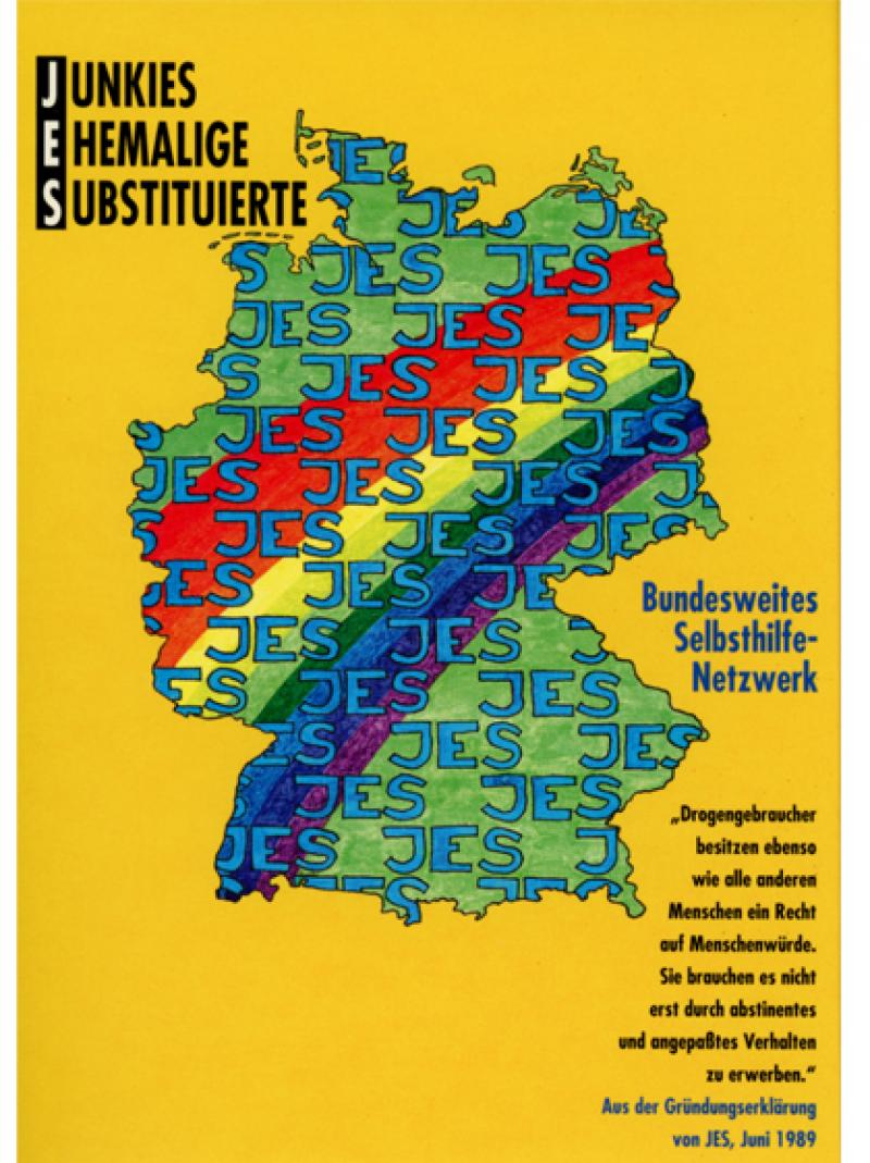 JES - Junkies-Ehemalige-Substituierte - Bundesweites Selbsthilfe-Netzwerk 1995