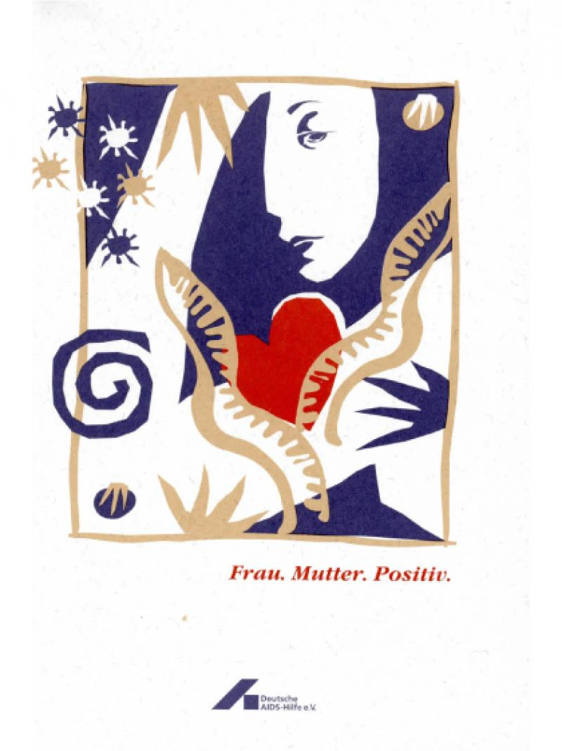 Frau. Mutter. Positiv. 1995