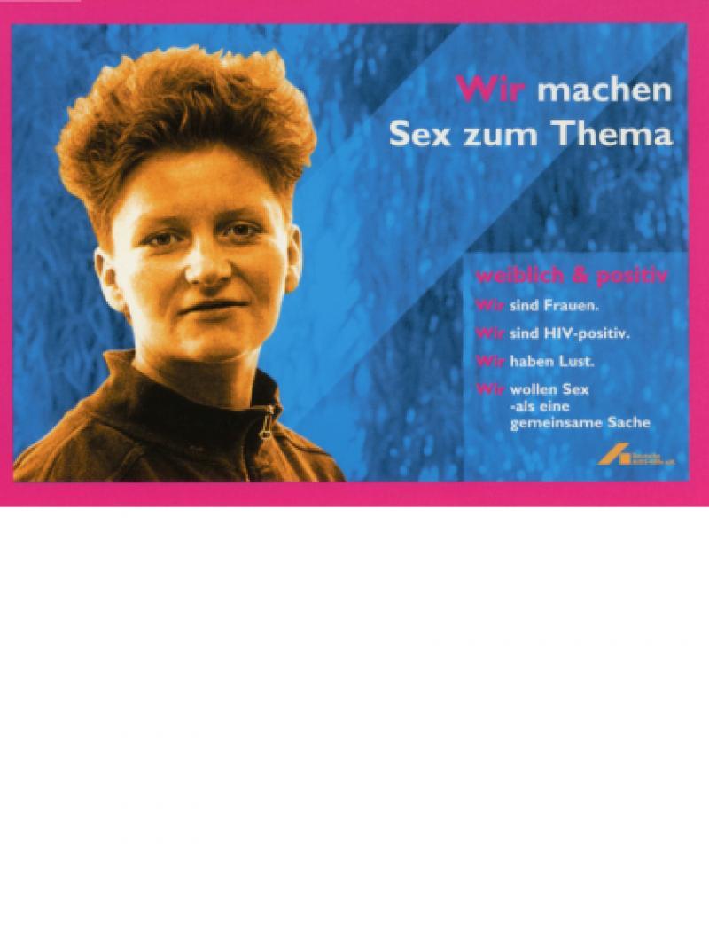Wir machen Sex zum Thema - weiblich & positiv 1996