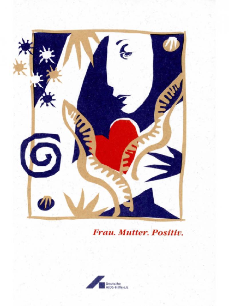 Frau. Mutter. Positiv. 1996