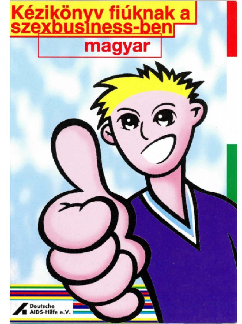 Taschenbuch für Jungs im Sexbusiness ungarisch 1997