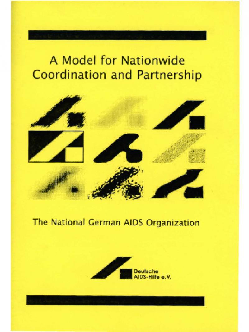 Gelbes Cover mit DAH-Schriftzug und Titel der Broschüre