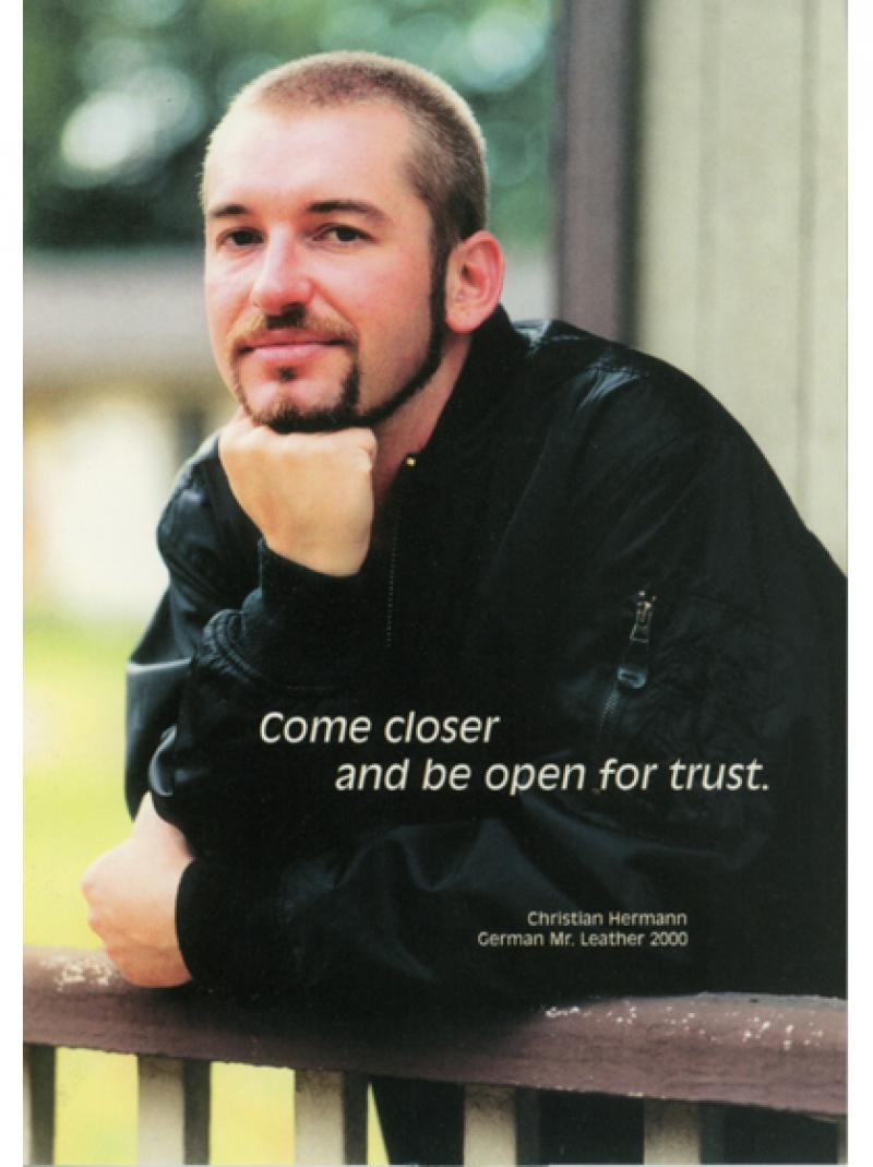 Come closer and be open for trust 2000