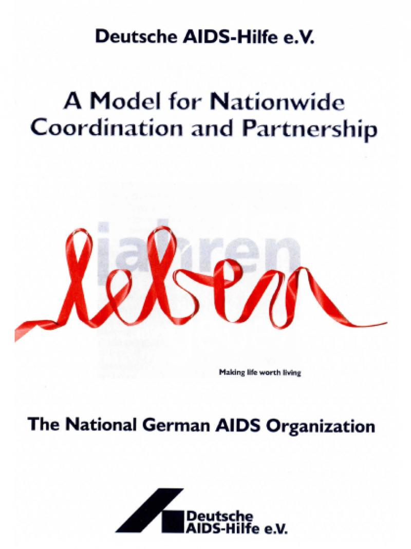 Deutsche AIDS-Hilfe e.V. - A model for nationwide coordination and partnership