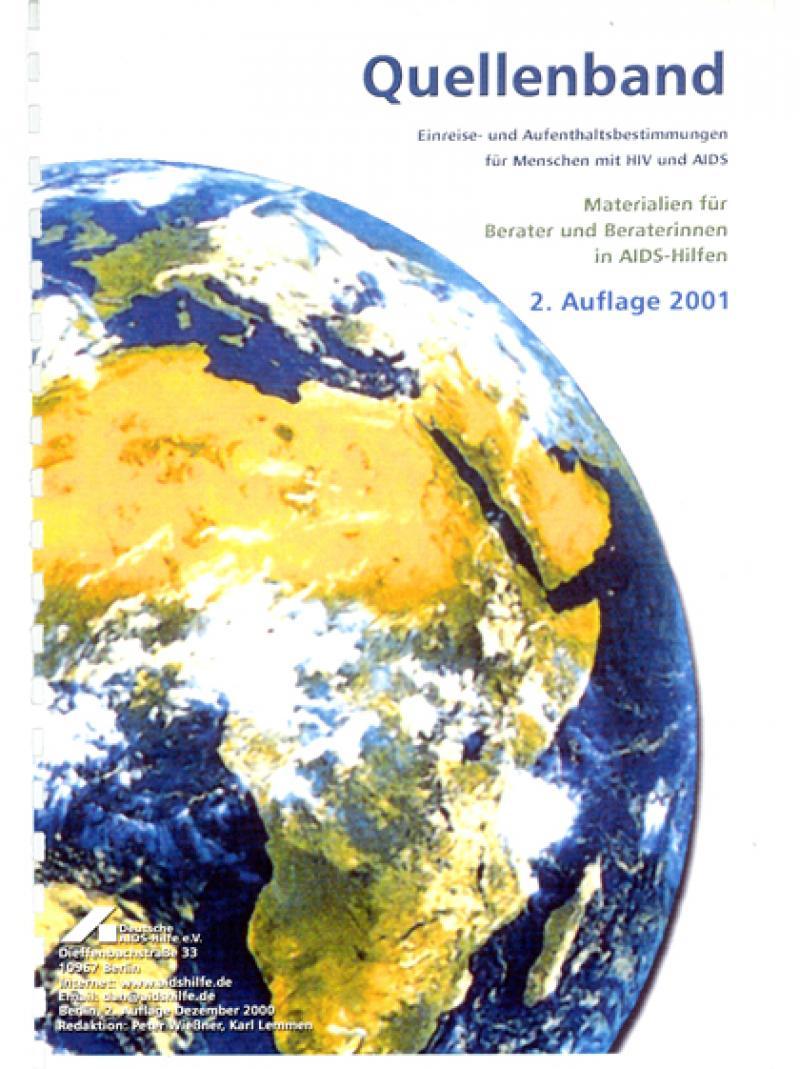 Quellenband - Einreise- und Aufenthaltsbestimmungen... 2001