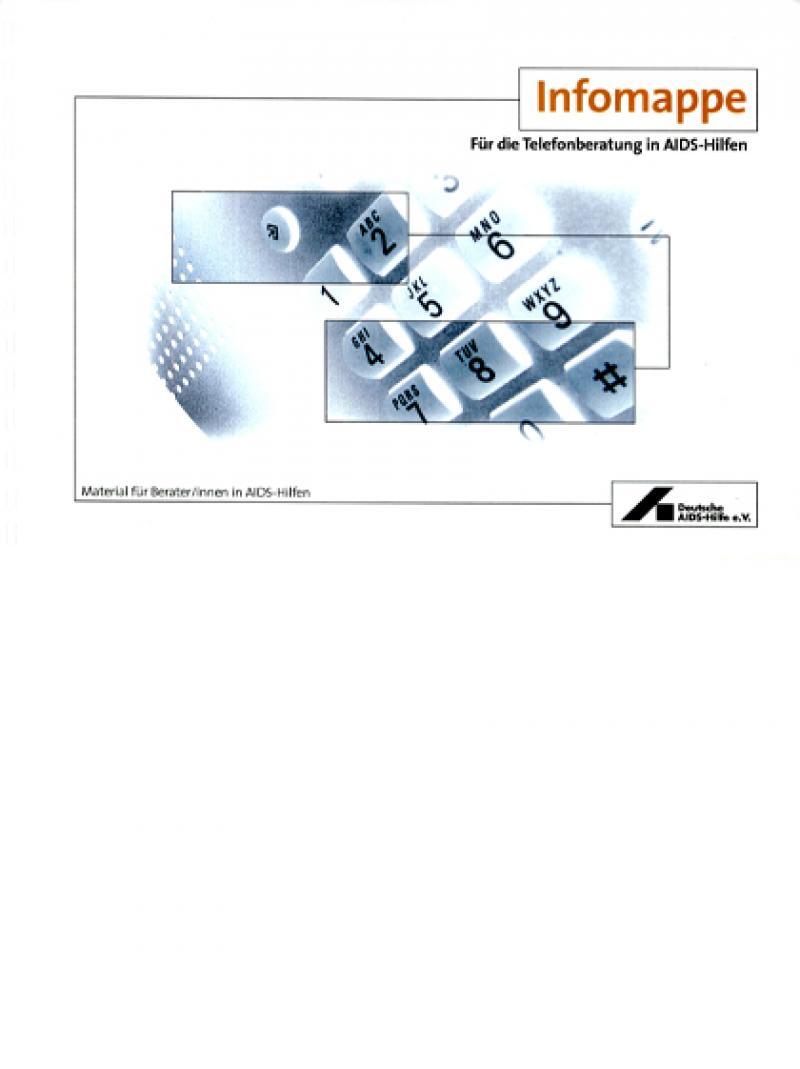 Infomappe für die Telefonberatung in AIDS-Hilfen 2001