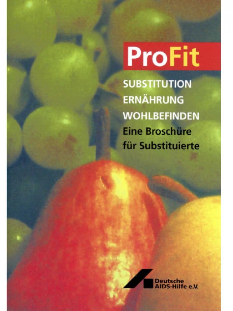ProFit - Substitution Ernährung Wohlbefinden 2001