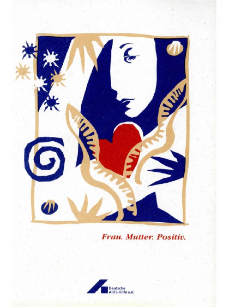 Frau. Mutter. Positiv. 2002