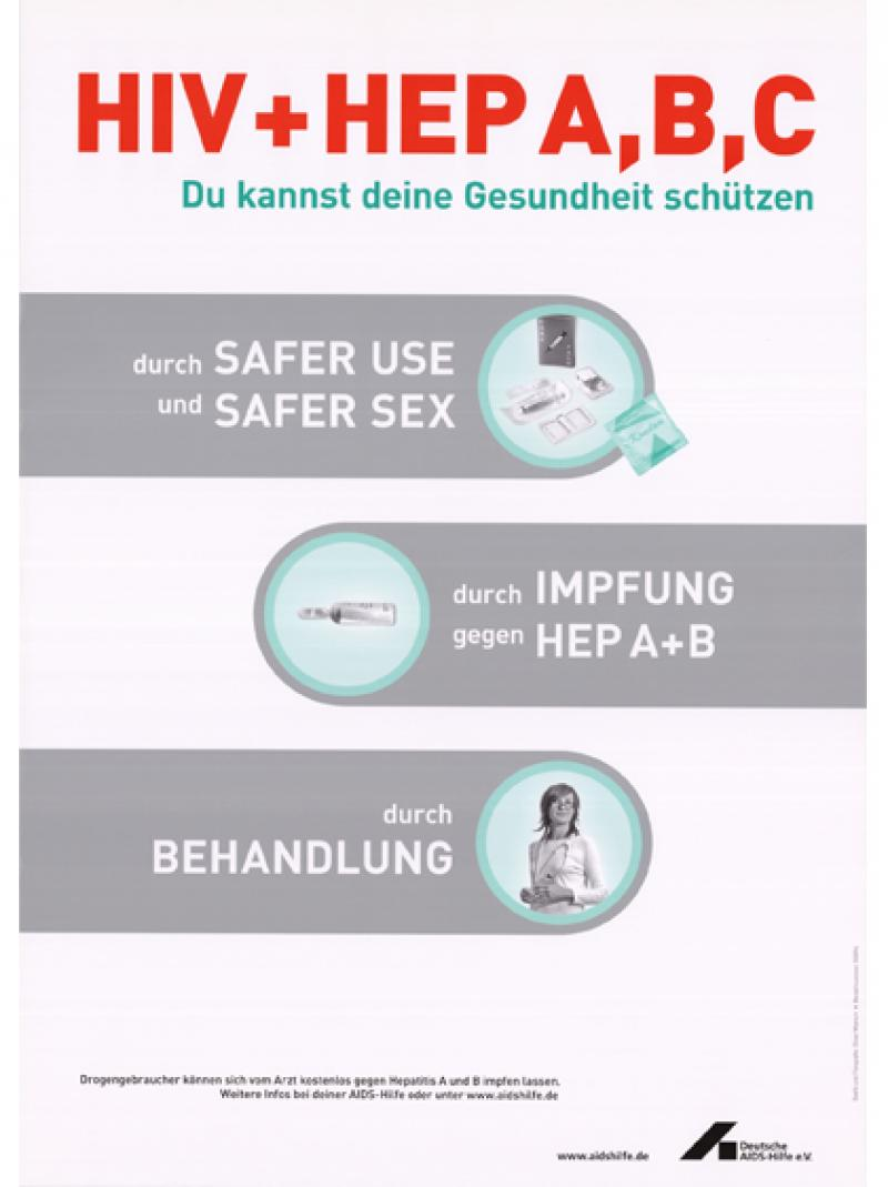 HIV und Hep A,B,C - Du kannst deine Gesundheit schützen 2004