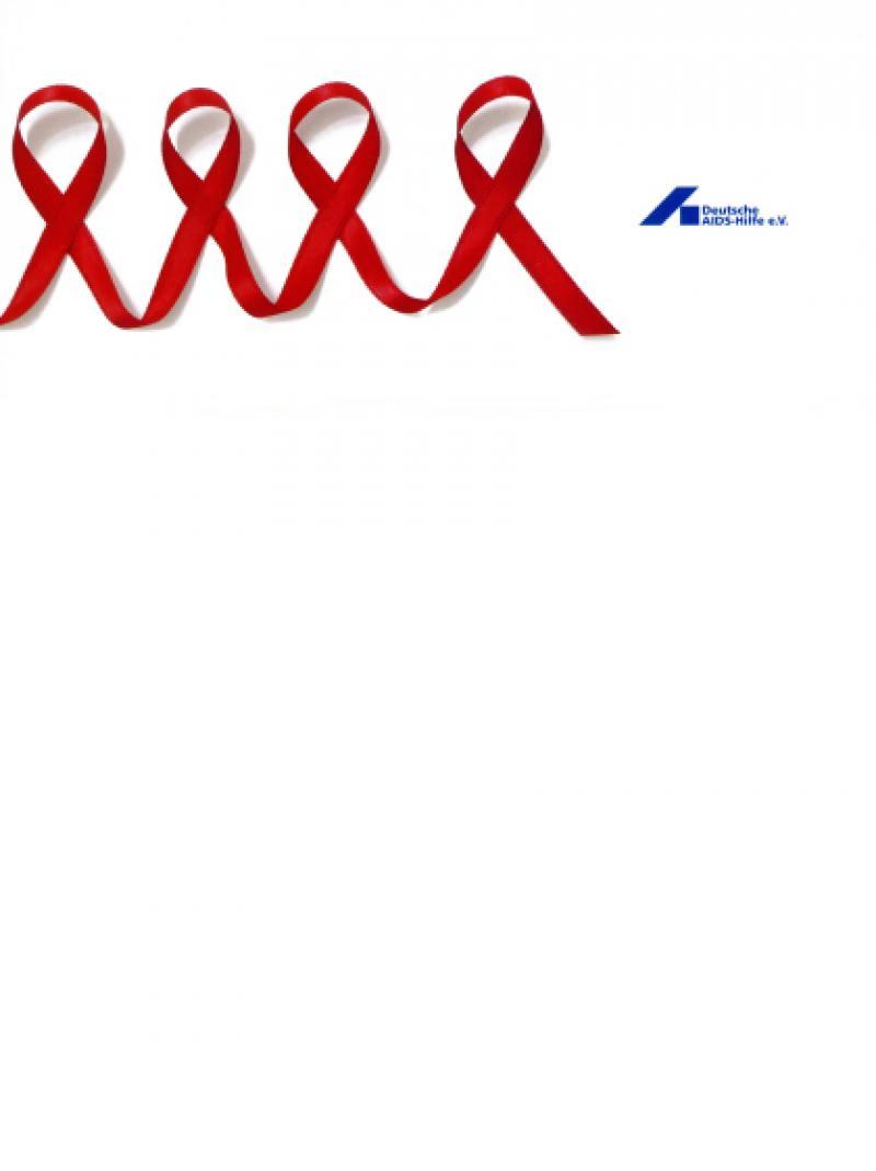 Weihnachtspostkarte - Deutsche AIDS-Hilfe e.V. 2006