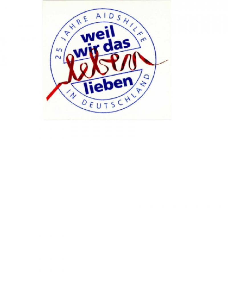 25 Jahre AIDS-Hilfe in Deutschland - weil wir das Leben lieben 2008
