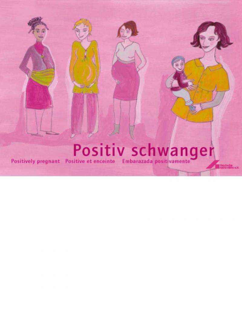 Positiv schwanger, 4-sprachig, 3. Aufl. 2009