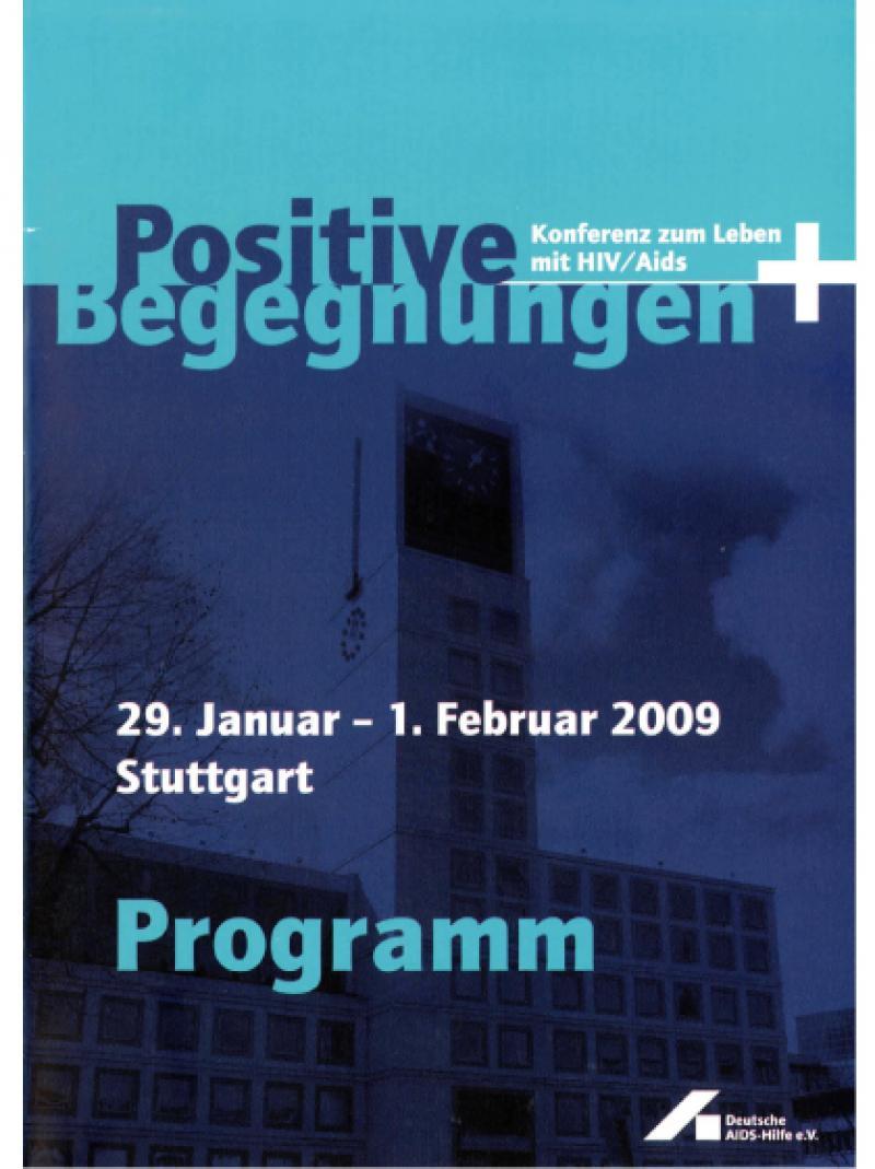 Positive Begegnungen Konferenz der Menschen mit HIV und AIDS 2009 Programm