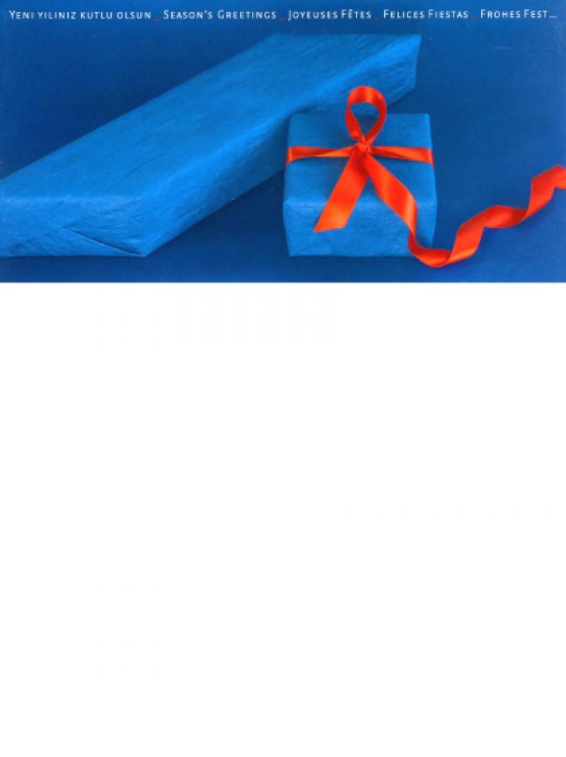Weihnachtspostkarte - Deutsche AIDS-Hilfe e.V. 2009