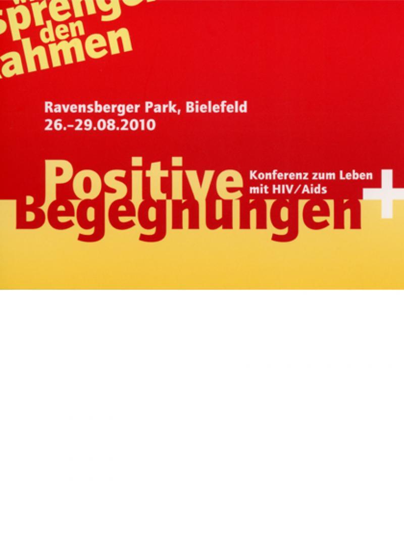 Positive Begegnungen - Konferenz zum Leben mit HIV / Aids - 2010