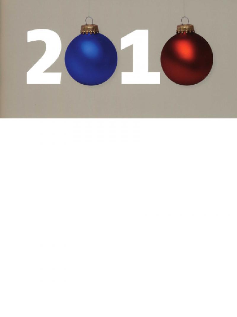 Weihnachtspostkarte - Deutsche AIDS-Hilfe e.V. 2010