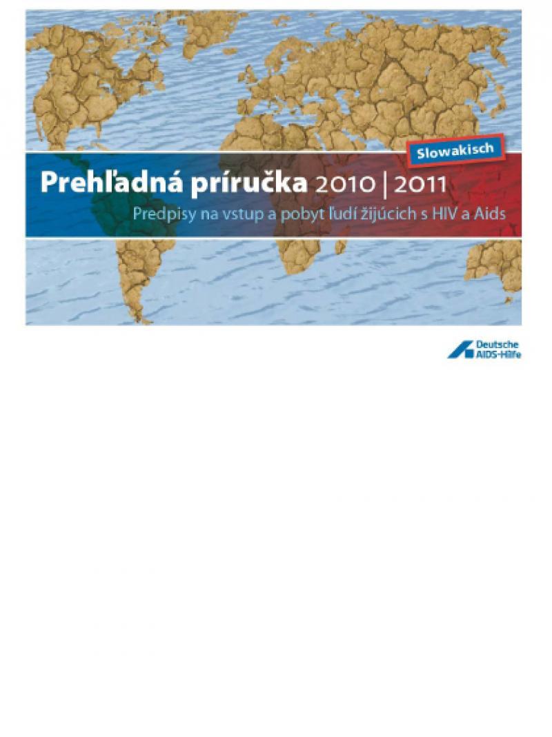 Schnellfinder 9. Aufl. 2010 slowakisch