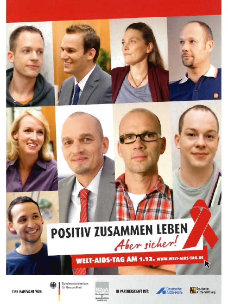 Positiv zusammen leben - Aber sicher! WAT-Faltblatt 2010