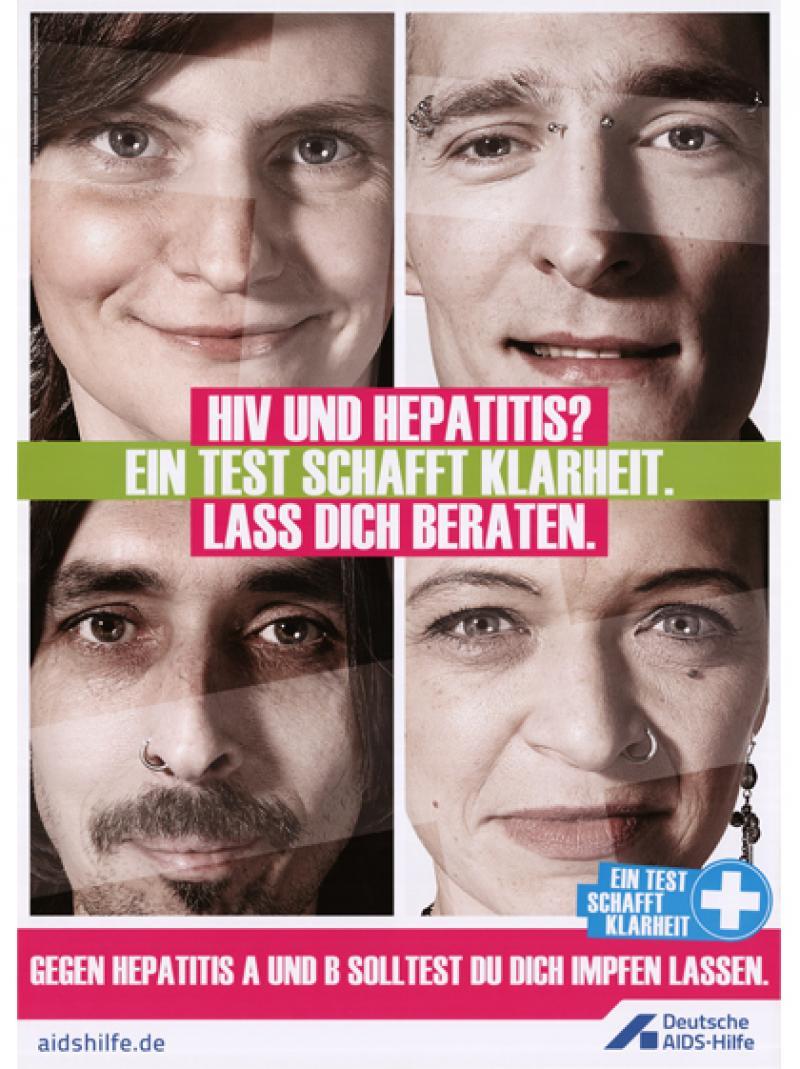 HIV und Hepatitis? Ein Test schafft Klarheit. Lass dich beraten. 2011