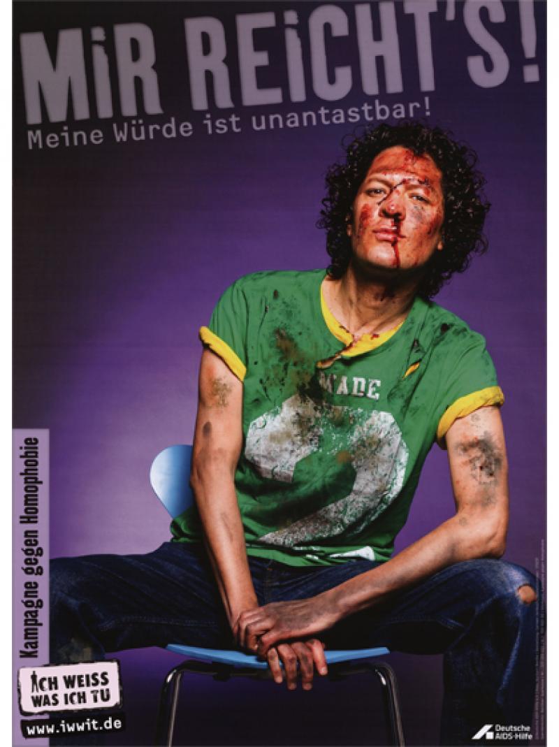 Mir reicht's! Meine Würde ist unantastbar! 2011