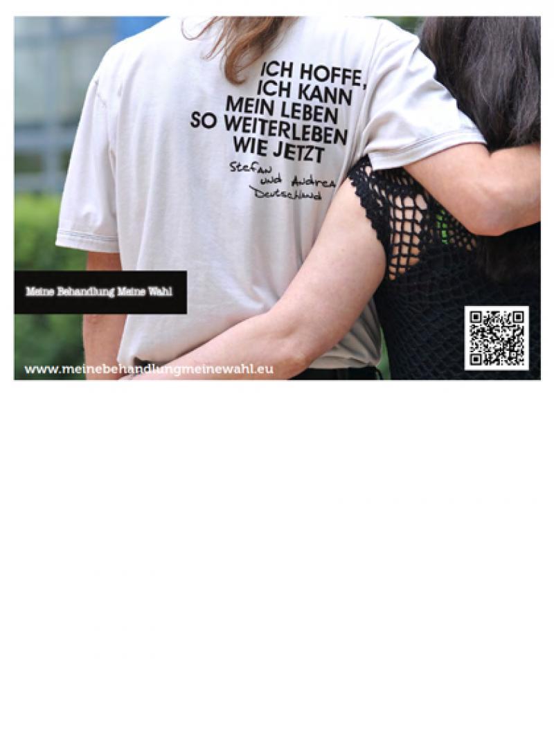 Meine Behandlung - meine Wahl - Motiv Stefan und Andrea 2012