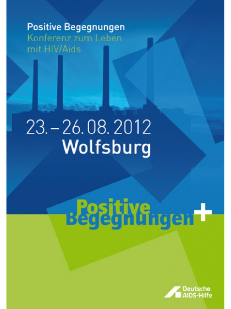 Positive Begegnungen - 2012 - Postkarte