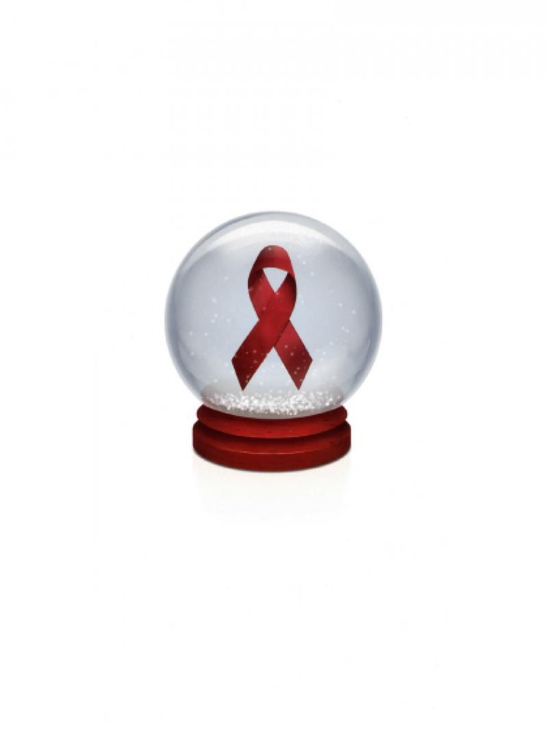 Weihnachtspostkarte - Deutsche AIDS-Hilfe e.V. 2012