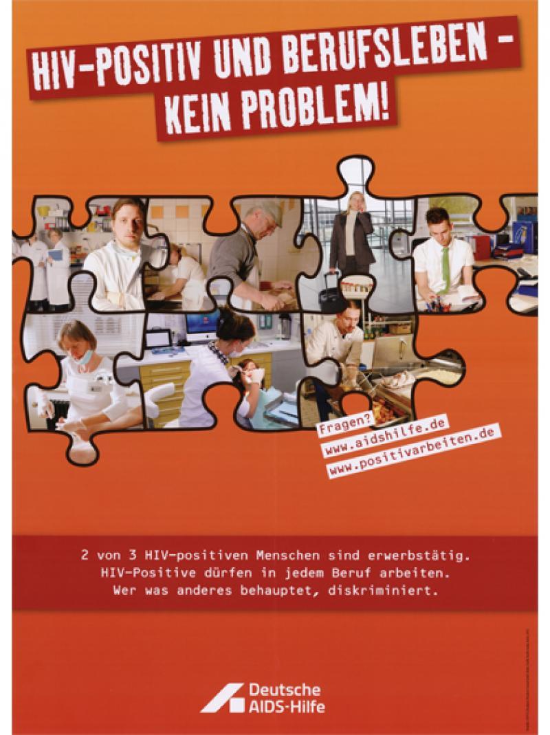 HIV-positiv und Berufsleben - kein Problem! 2013