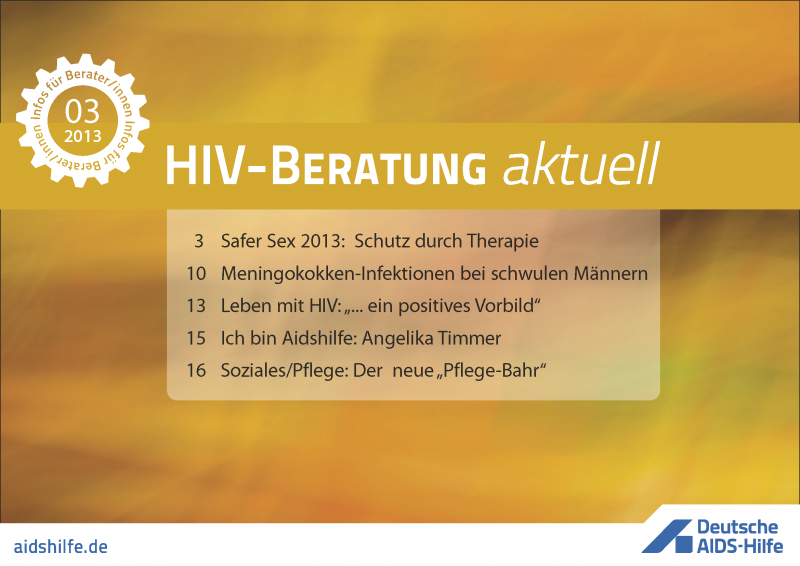 HIV-Beratung aktuell 3/2013