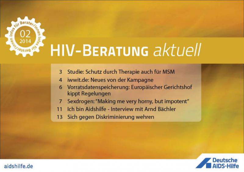 HIV-Beratung aktuell 2/2014