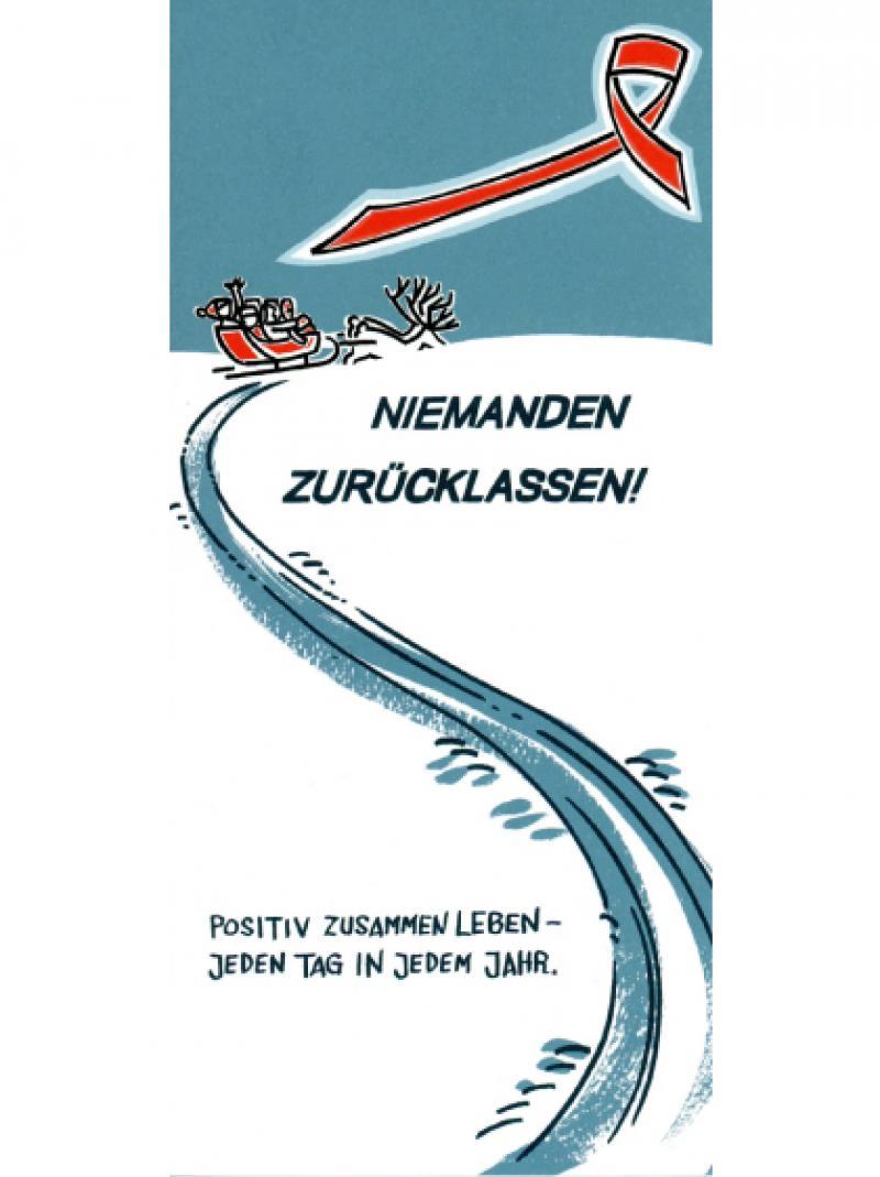 Weihnachtspostkarte - Deutsche AIDS-Hilfe e.V. 2014