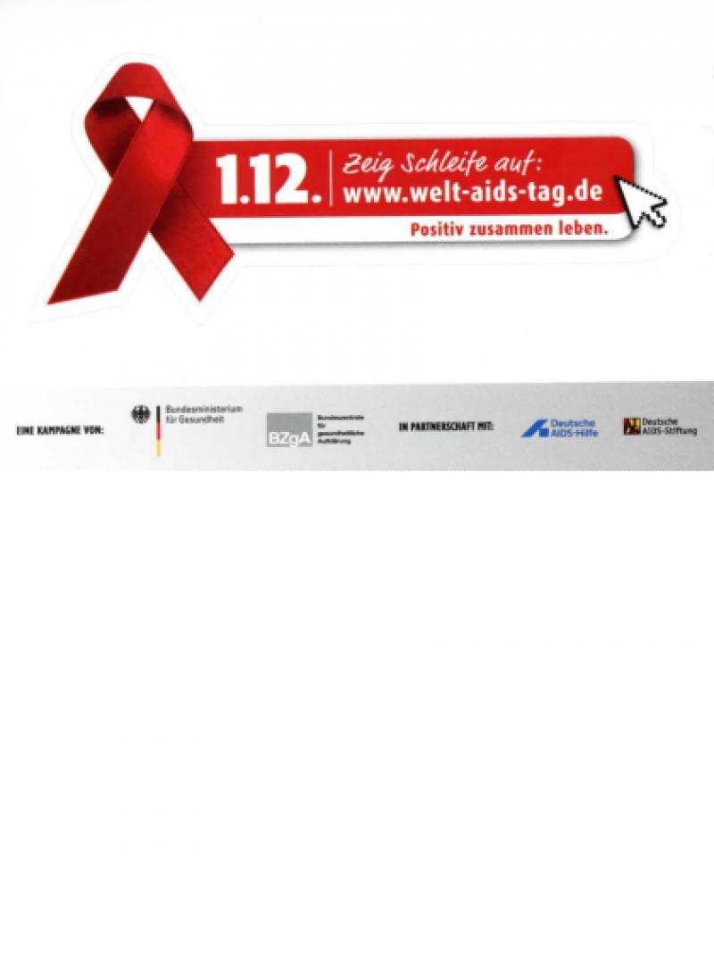 Positiv zusammen leben - Welt-AIDS-Tag 2014