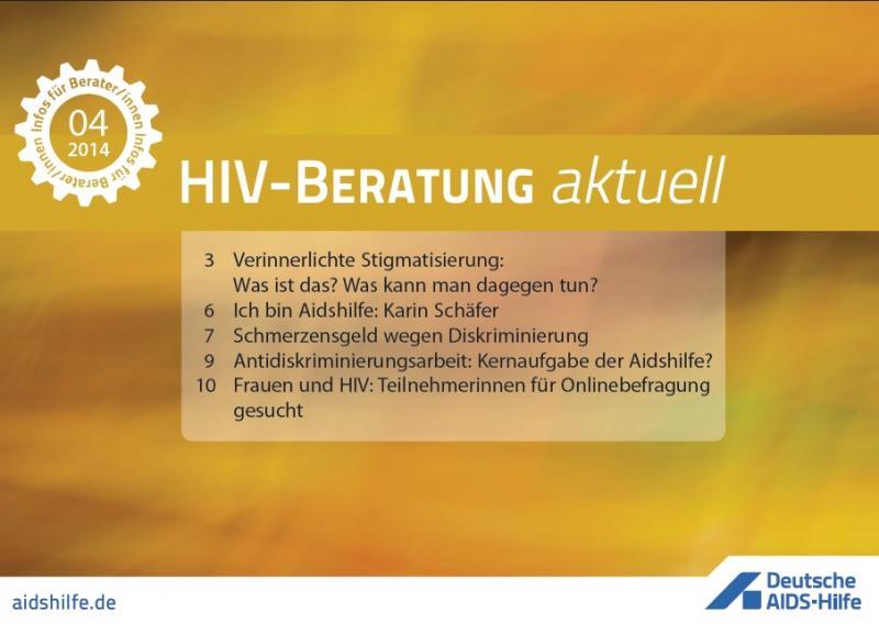 HIV-Beratung aktuell 2014/04