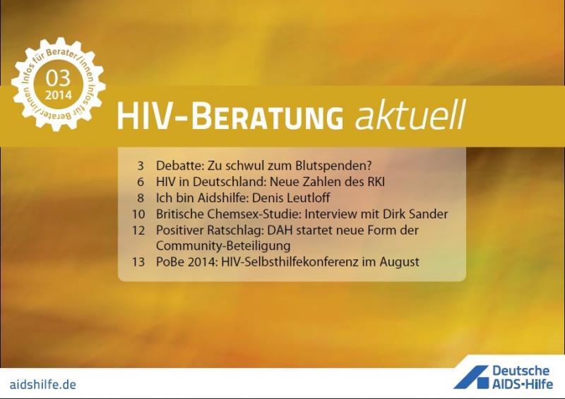 HIV-Beratung aktuell 2014/05