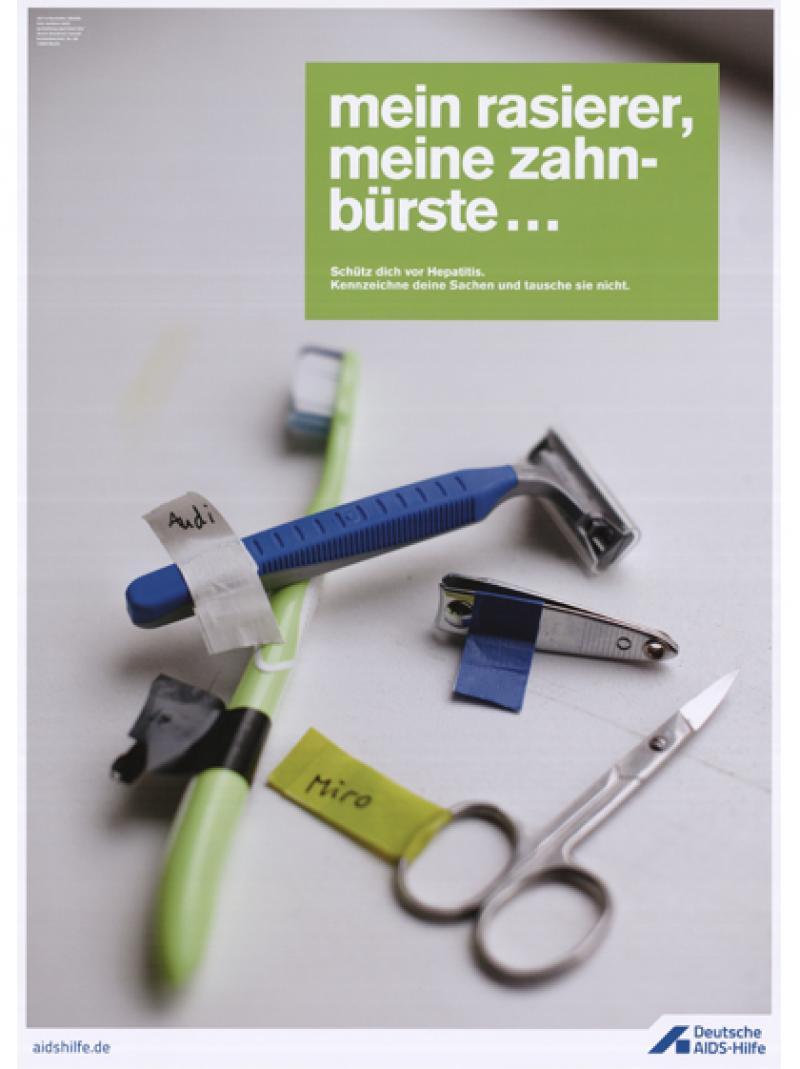 Mein Rasierer, meine Zahnbürste... 2015